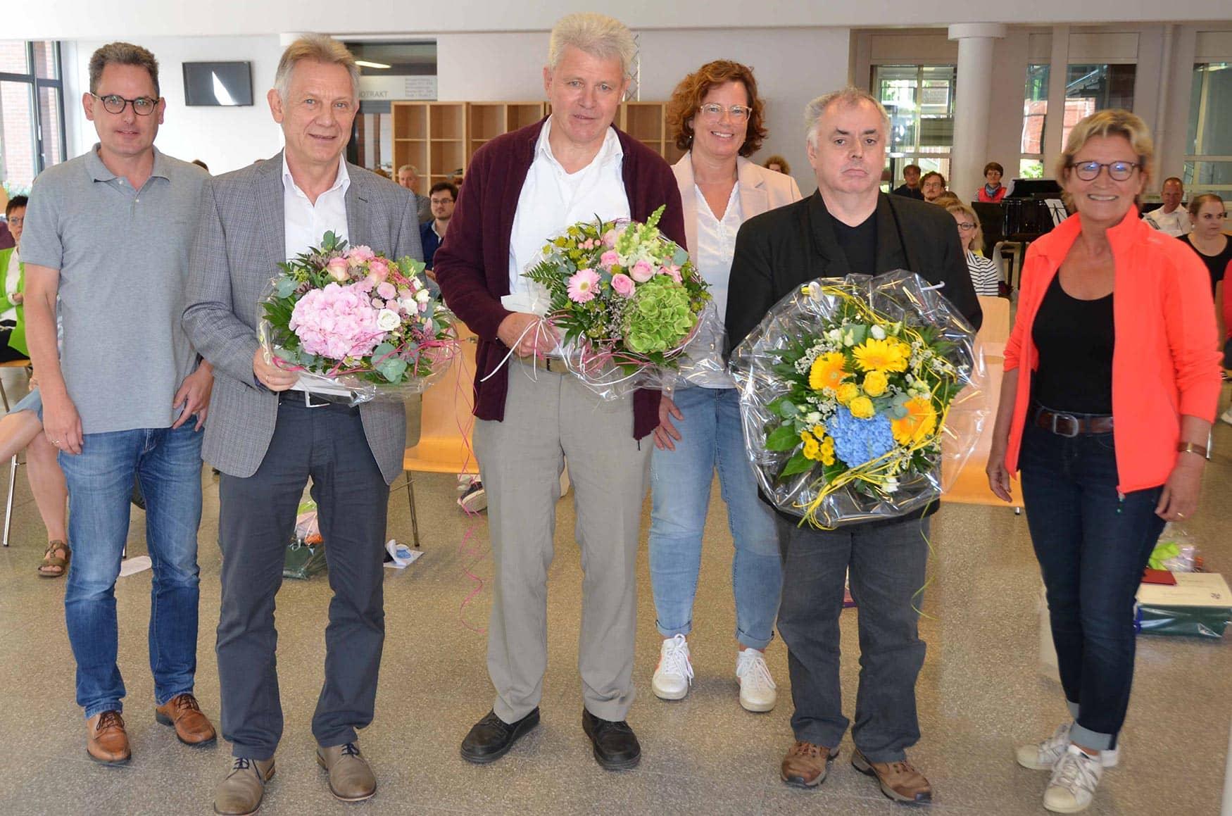 Mit den Pensionären gehen 98 Jahre Kollegs-Erfahrung